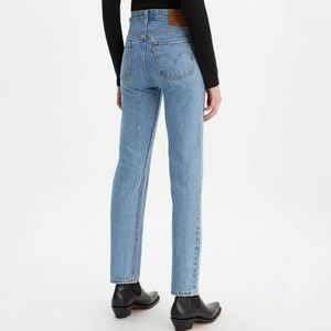Vintage Levi's 501's High Waisted Button Fly Jeans